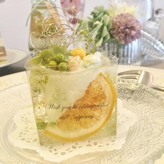 Lemon cake ※アロマワックスケーキ