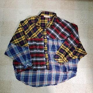 アナップミンピ(anap mimpi)のチェックシャツ(シャツ/ブラウス(長袖/七分))