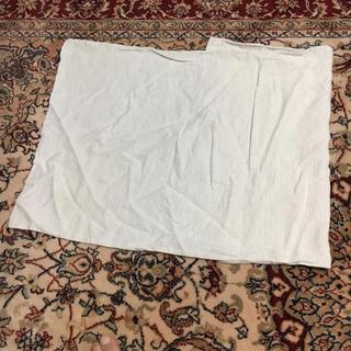 ムジルシリョウヒン(MUJI (無印良品))の無印枕カバー ストライプ(シーツ/カバー)