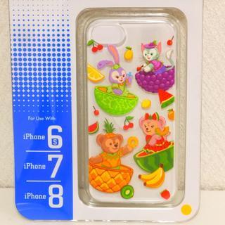 香港限定 ダッフィーフレンズ フルーティサマー iPhone6s/7/8 ケース