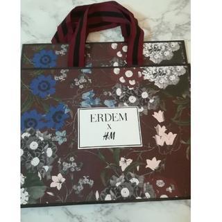アーデム(Erdem)のERDEM ショッパー ショップ袋 H&M コラボ(ショップ袋)