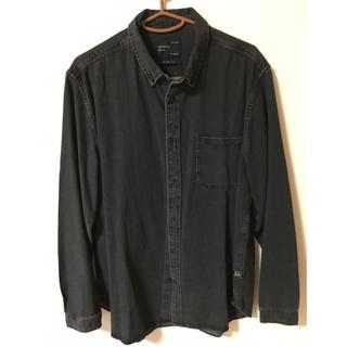 ザラ(ZARA)のZARA  デニムシャツ XL(シャツ)
