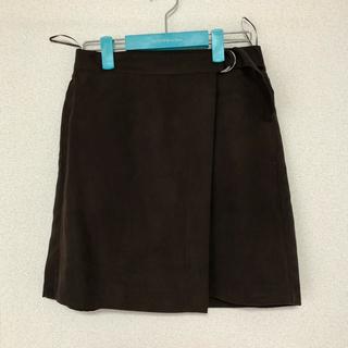 ジーユー(GU)のGU スエードタッチミニスカート(ミニスカート)