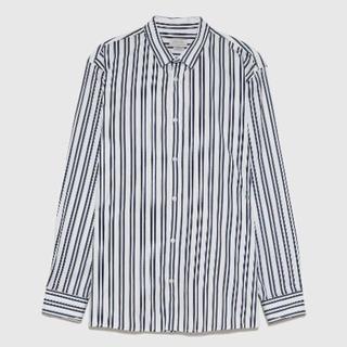 ザラ(ZARA)の最強 ZARA MAN 新品 メンズ 細身 スリム ストライプSシャツ ザラ(シャツ)