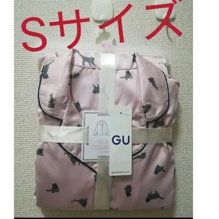 ジーユー(GU)の新品未使用 gu 猫柄パジャマ パジャマ ルームウェア(パジャマ)