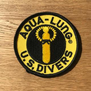 アクアラング(Aqua Lung)のアクアラング ワッペン(新品未使用)(マリン/スイミング)