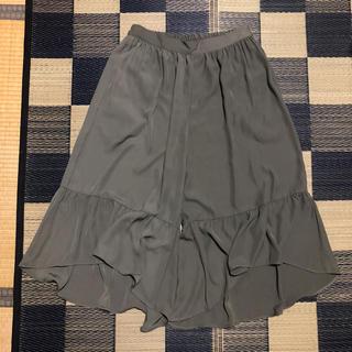シマムラ(しまむら)のしまむら リリーフレア ワイド パンツ 大きいサイズ(その他)