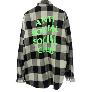 アンチ(ANTI)のanti social social club Frannel ネルシャツ(シャツ)