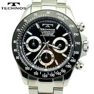 テクノス(TECHNOS)のTECHNOS テクノス クロノグラフ腕時計 TSM401TB(腕時計(アナログ))