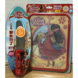 ディズニー(Disney)のDisneyミニまな板&子供安全包丁セット(その他)