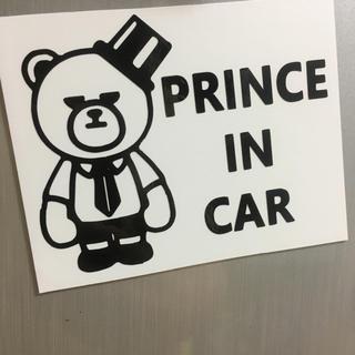 BIGBANG - BIGBANG プリンスインカー prince 車 キッズインカー マグネット