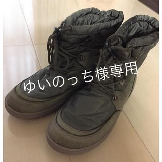 キンバーテックス(KIMBERTEX)の【KIMBERTEX】YOGAスノーブーツ カーキ レディース24㎝(ブーツ)