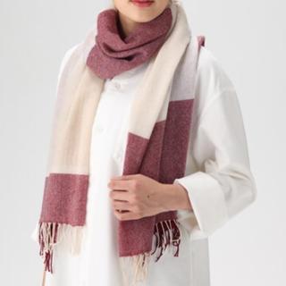 カシミヤ織り柄 ストール