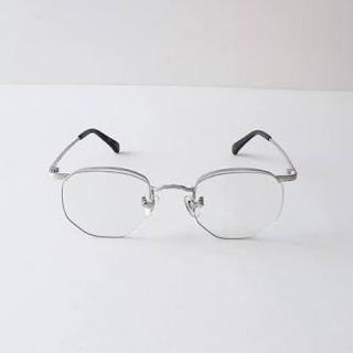 ワンエルディーケーセレクト(1LDK SELECT)のbuddy optical washinton シルバー(サングラス/メガネ)