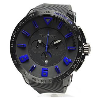 テンデンス(Tendence)のテンデンス TT560004 スポーツガリバークロノ 腕時計 ブルー&ブラック(腕時計(アナログ))