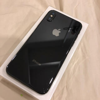アップル(Apple)のiPhonex 64GB SIMフリー(スマートフォン本体)