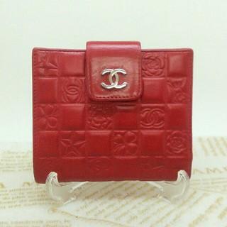 シャネル(CHANEL)の⭐正規品⭐ CHANEL アイコン二つ折り財布(財布)