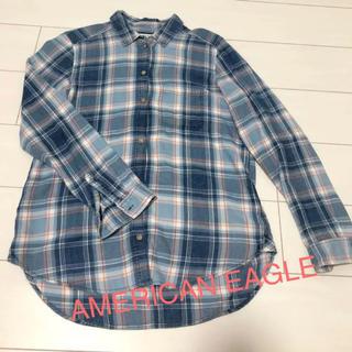アメリカンイーグル(American Eagle)のAMERICAN EAGLE アメリカンイーグル ネルシャツ チェックシャツ(シャツ)