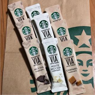 Starbucks Coffee - スターバックス  スタバ   VIA  コーヒー  ホワイトモカ  キャラメル
