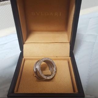 ブルガリ(BVLGARI)の超美品 BVLGARY ブルガリ ビー・ゼロワンリング 3バンド 定価15万円超(リング(指輪))