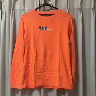 エクストララージ(XLARGE)のX-LARGE ロンT オレンジ(Tシャツ/カットソー(七分/長袖))