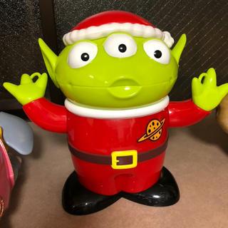 ディズニー(Disney)のディズニー ポップコーンケース リトルグリーンメン クリスマス(その他)