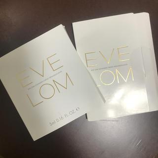 セフォラ(Sephora)のイヴロム EVELOM クレンザー サンプルサイズ モスリンクロス(サンプル/トライアルキット)