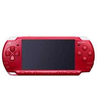 プレイステーションポータブル(PlayStation Portable)のpsp2000レッド(携帯用ゲーム本体)