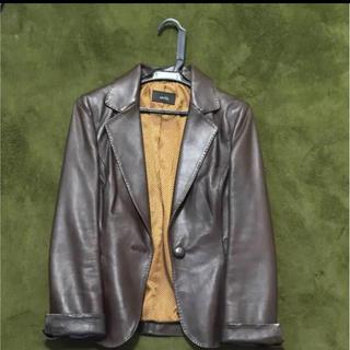 アナイ(ANAYI)のもりごんさん専用★modify 羊革のジャケット 42(レザージャケット)