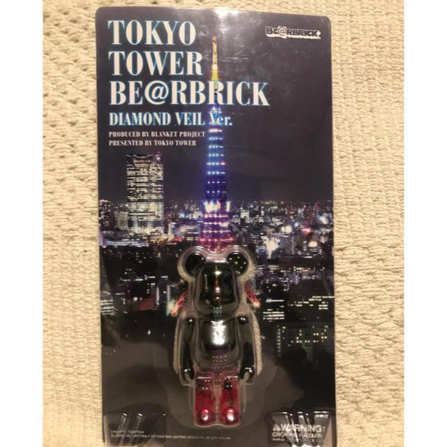MEDICOM TOY(メディコムトイ)のベアブリック 東京タワー 100% ダイヤモンド エンタメ/ホビーのフィギュア(その他)の商品写真