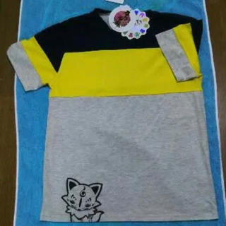 シマムラ(しまむら)のしまむら 刀剣乱舞 コラボTシャツ こんのすけ  Lサイズ 新品タグ付き(その他)