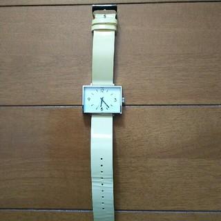 ムジルシリョウヒン(MUJI (無印良品))の無印 駅の時計(腕時計)