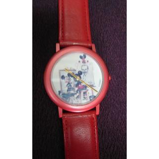ディズニー(Disney)のUSA・ミッキーマウス・リストウオッチ・クオーツ・70~80年代(#WTC-1)(腕時計(デジタル))
