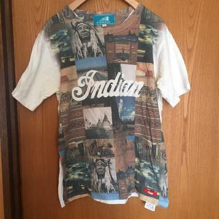 インディアン(Indian)のIndian moto cycle Tシャツ(Tシャツ(半袖/袖なし))