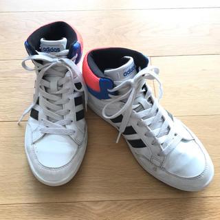 アディダス(adidas)のadidas☆ 22.5㎝ ハイカットスニーカー(スニーカー)