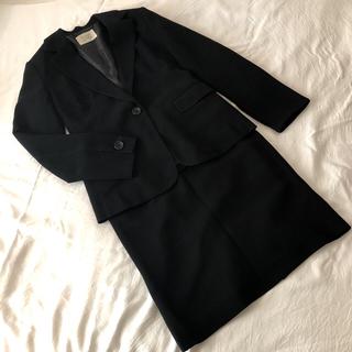 アンナルナ ジャケット スカート リクルート スーツ セットアップ 黒 9 M