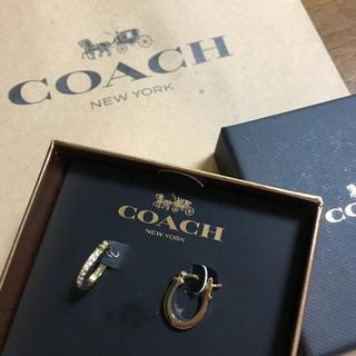 コーチ(COACH)の未使用 コーチ ゴールドピアス (ピアス(両耳用))