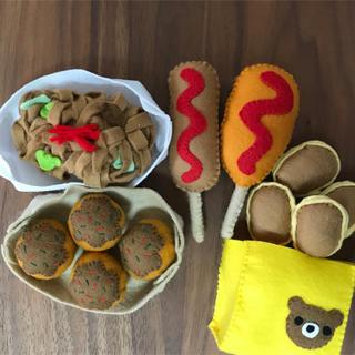 フェルトままごと お祭りセット(おもちゃ/雑貨)