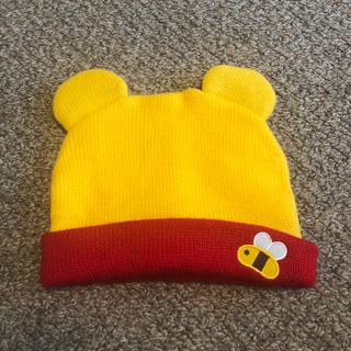 Disney - プーさん ニット帽 50センチ