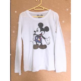 ディズニー(Disney)のミッキー トップス(カットソー(長袖/七分))