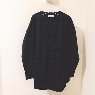 ビューティアンドユースユナイテッドアローズ(BEAUTY&YOUTH UNITED ARROWS)のモンキータイム チェックシャツ Lサイズ(シャツ)