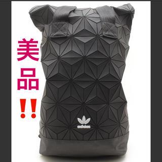 アディダス(adidas)の美品❤️アディダス バックパック ロールトップ3D❤️リュック(バッグパック/リュック)