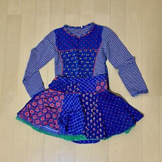 オイリリー(OILILY)のオイリリー スカート カットソー セット 116 6y 120(スカート)