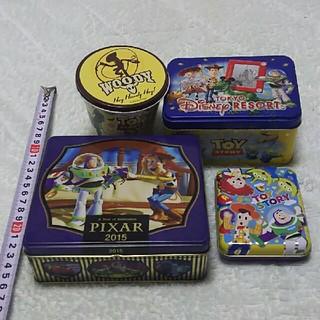 トイストーリー(トイ・ストーリー)のトイ・ストーリー 空缶4コセット(小物入れ)