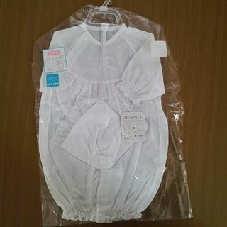 ニシマツヤ(西松屋)のセレモニードレス フード付 50~60(セレモニードレス/スーツ)