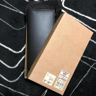 ムジルシリョウヒン(MUJI (無印良品))の新品 無印良品 長財布 ブラック(長財布)