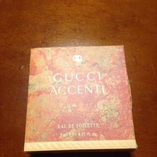 グッチ(Gucci)の美品GUCCI ACCENTI 5ml(香水(女性用))