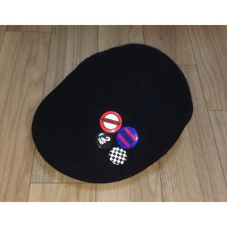 トゥエンティーフォーカラッツ(24karats)の美品 KANGOL x 24karats ハンチングキャップ M ベレー帽(ハンチング/ベレー帽)