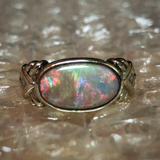 プラチナ オパールリング(リング(指輪))