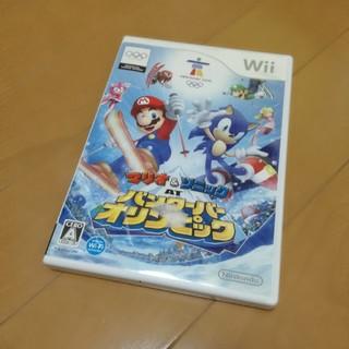 ウィー(Wii)のマリオ&ソニック バンクーバーオリンピック(家庭用ゲームソフト)